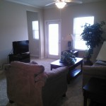 Beautiful interiors and amenites offer a quality experience during your short term rental stay in Pensacola.