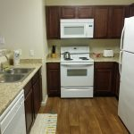 Sample kitchen one bedroom unit Provenza